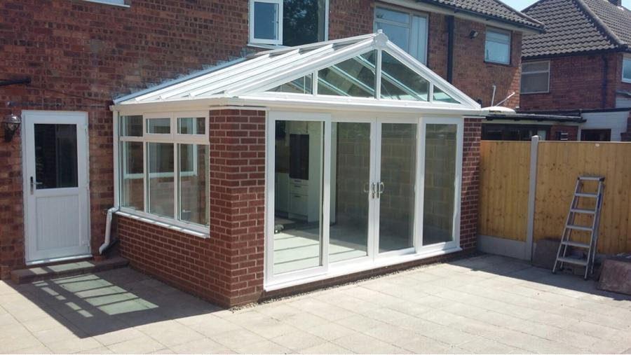 Conservatory Rebuild In Hadley Telford C Thru Windows