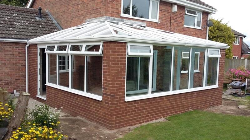 Corner Conservatory Norbury Shropshire C Thru Windows