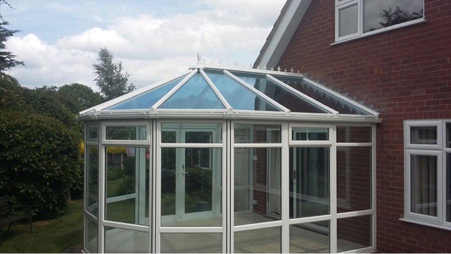 Fully glazed conservatory Shrewsbury
