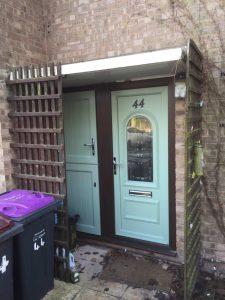 Door and bin cupboard upgrade