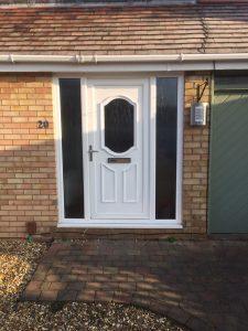 PVC door before
